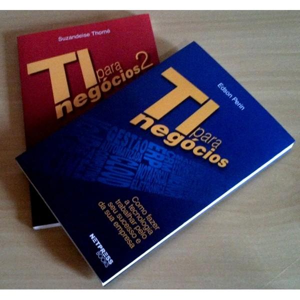 KIT Série TIN Penta: TI para negócios + TI para negócios 2-  De R$ 350,00 por R$ 250,00