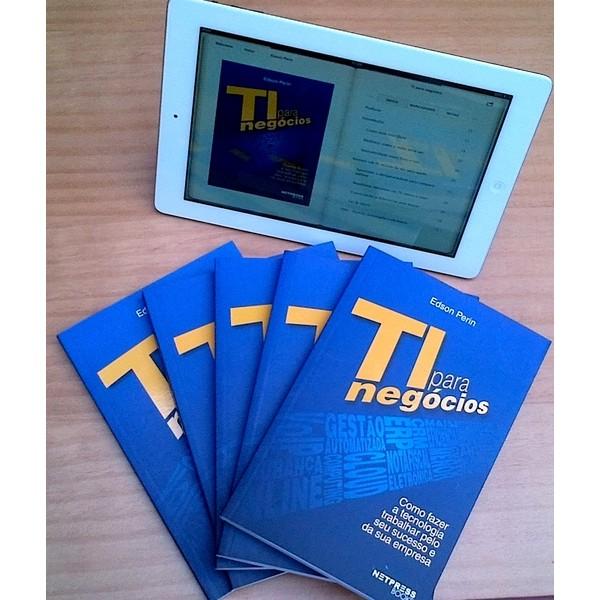 TI para Negócios + E-book - De R$ 191,00 por R$ 112,90