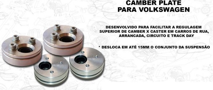 Caster Camber Plate
