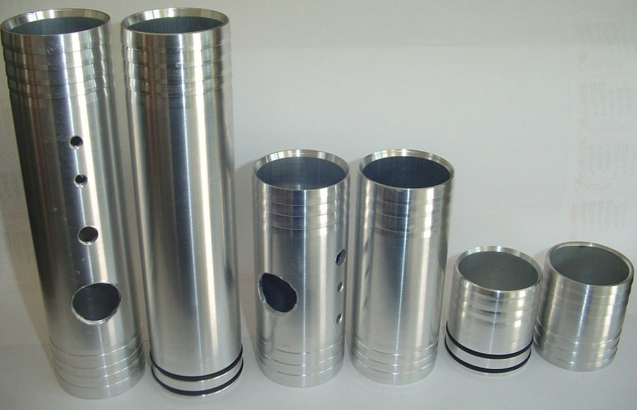Canote e Cano de Aluminio para Adptação de 2''