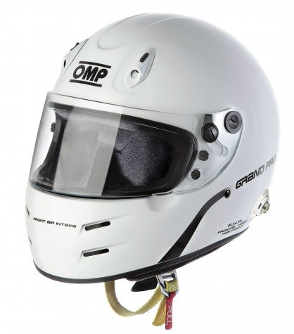 Capacete Racing Full Face para Hans Grand Prix  7s