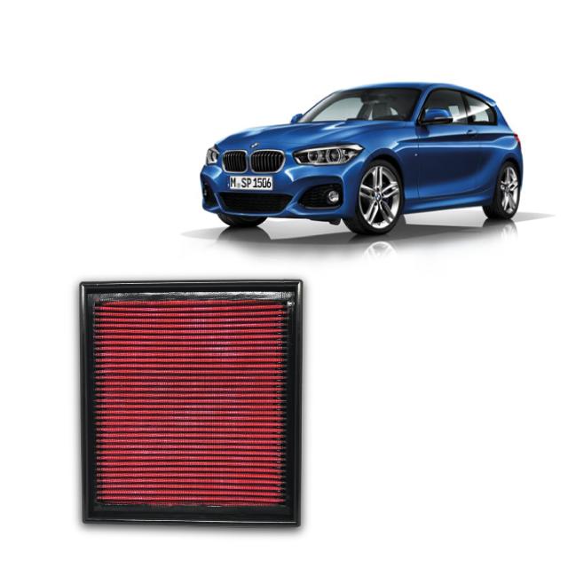 Filtro De Ar Esportivo Inbox BMW 118i 1.6 16v Turbo 2012 em diante