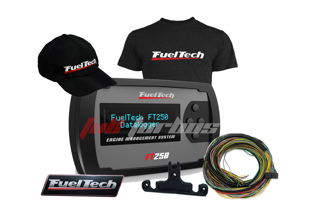 Fueltech FT250 + camiseta  + bone