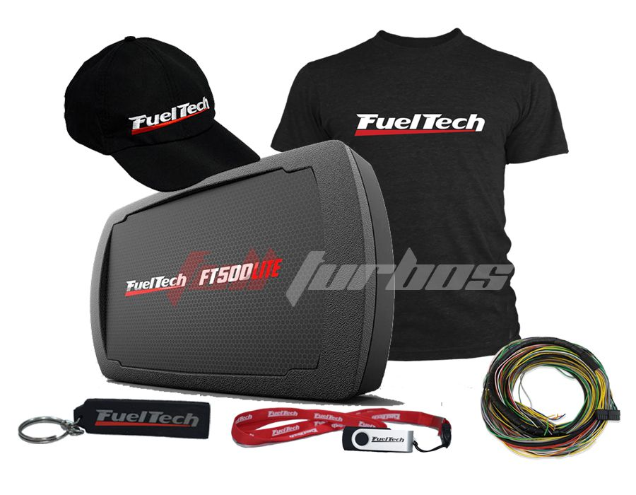 Fueltech FT500 LITE SFI + camiseta  + bone
