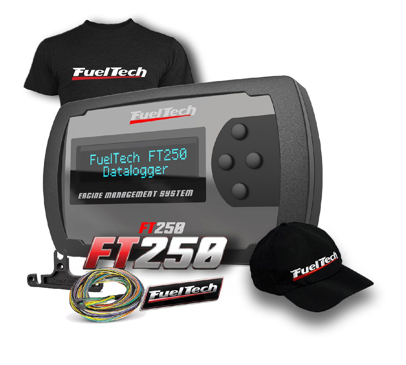 Fueltech FT 250 + camiseta  + bone