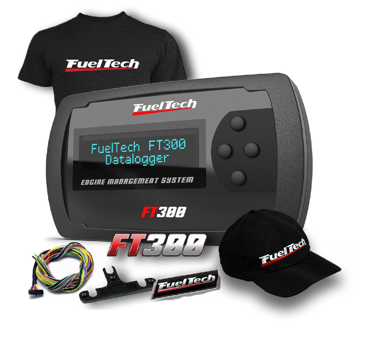 Fueltech FT 300 + camiseta  + bone