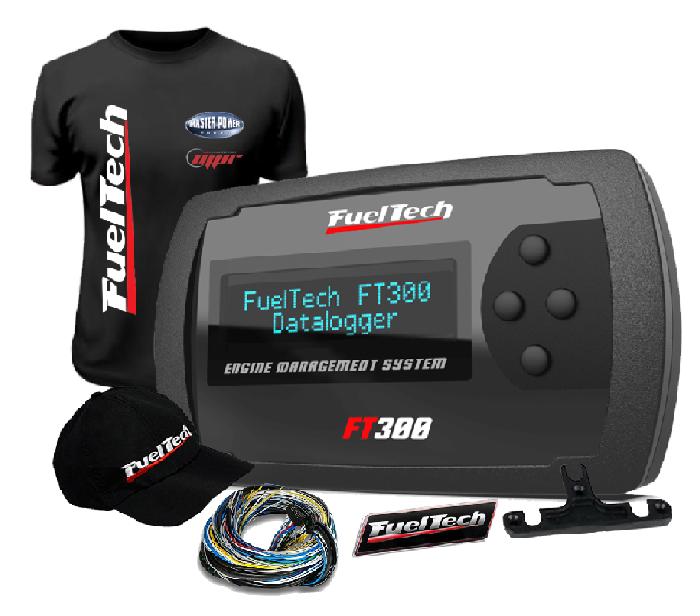 Fueltech FT 300 + camiseta  + bone