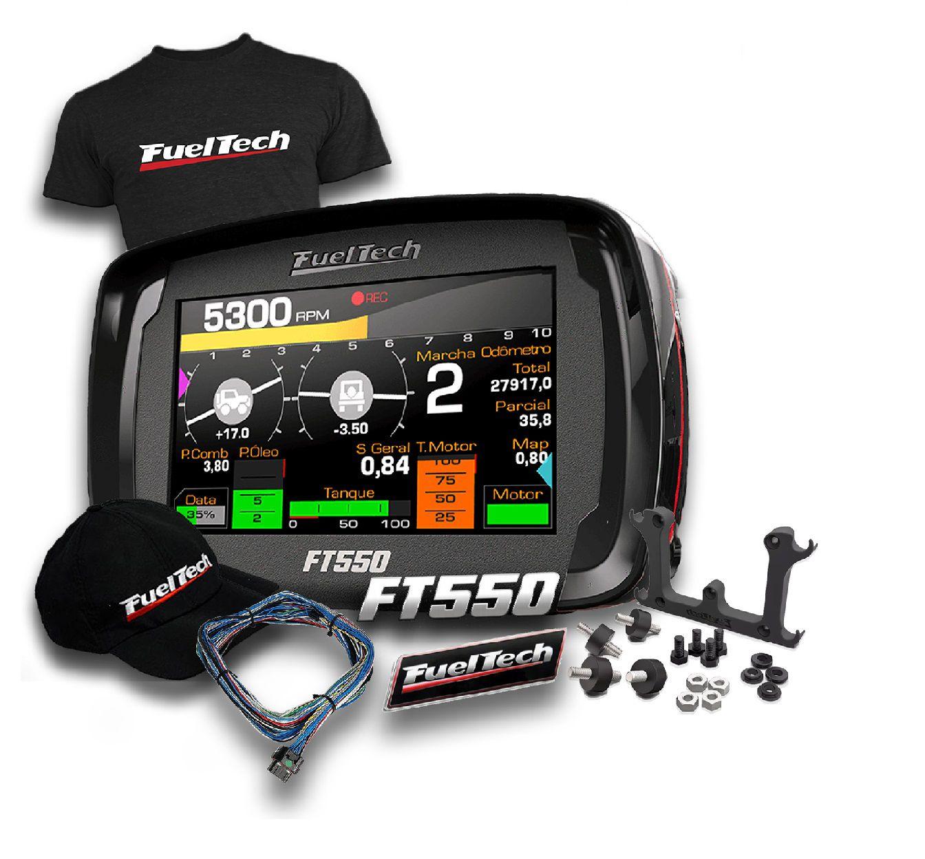 Fueltech Ft 550 + ultra Brindes+ 12x S/juros pronta entrega