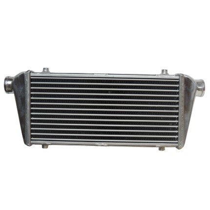Intercooler ar/ar 520x240x52mm com colméia tipo Tube & Fin /