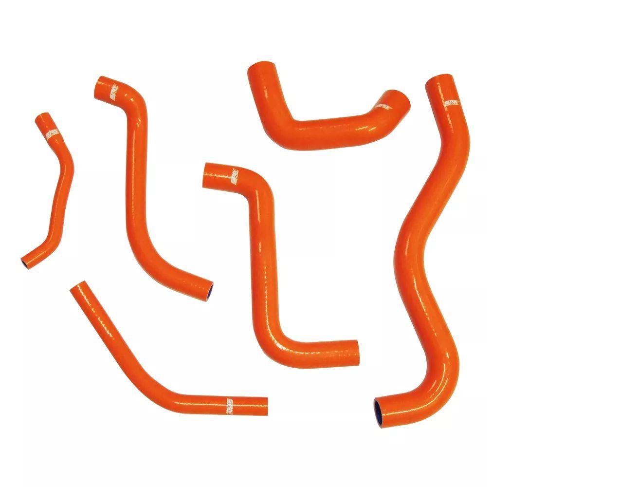 """Kit de mangueiras de arrefecimento em silicone família VW Gol """"quadrado"""" AP 8V"""
