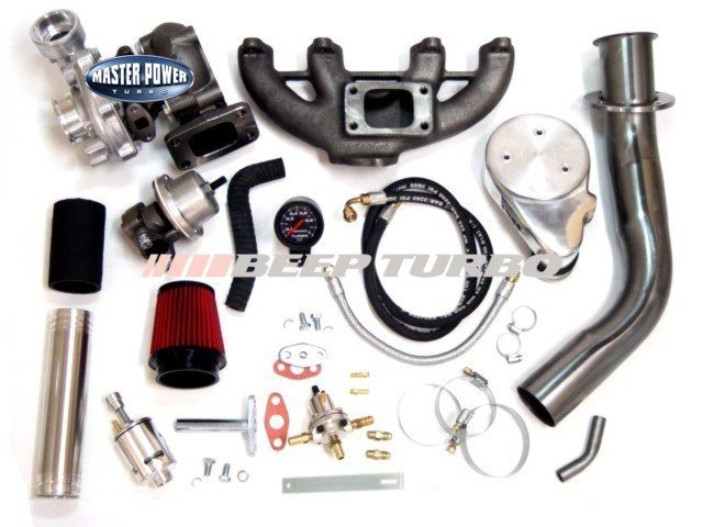 Kit Turbo Vw - AP Carburado - 1.6 / 1.8 / 2.0 (Sem Turbina)