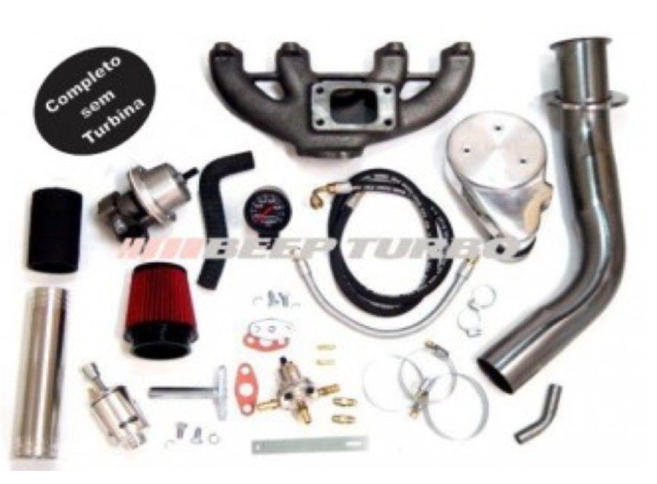 Kit Turbo Vw - AP Carburado - 1.6 / 1.8 / 2.0 (Sem Turbina)