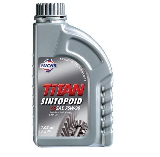oleo de transmissão titan sintopoid LS SAE 75W-90