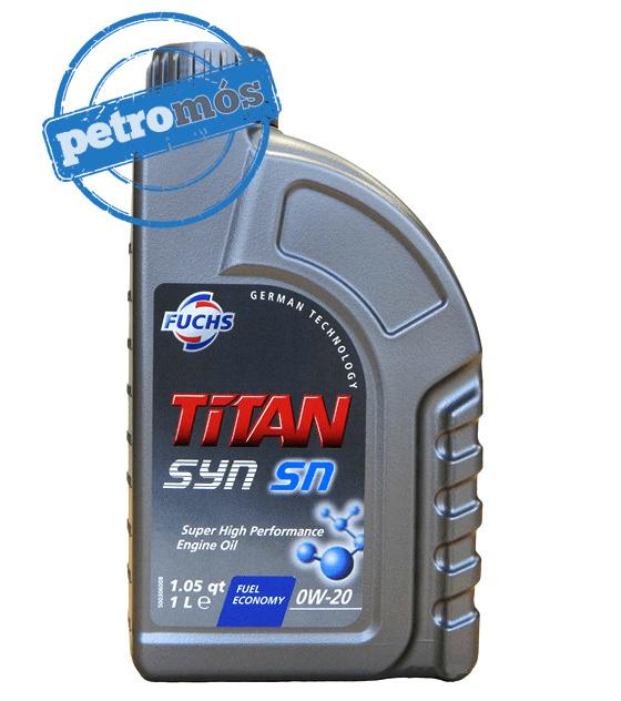 oleo Fuchs Titan SYN SN  0W 20