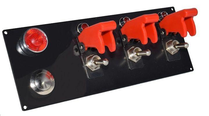 painel de interruptores