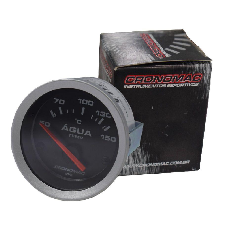 Relogio Termometro Eletrico Agua Linha Sport 52mm