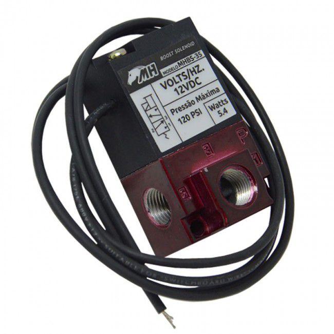 Solenoide para Controle de Pressão de Turbo 3 Vias - Boost Solenoid