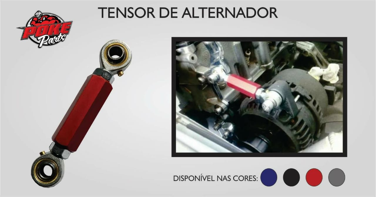 tensor do alternador do motor do ap