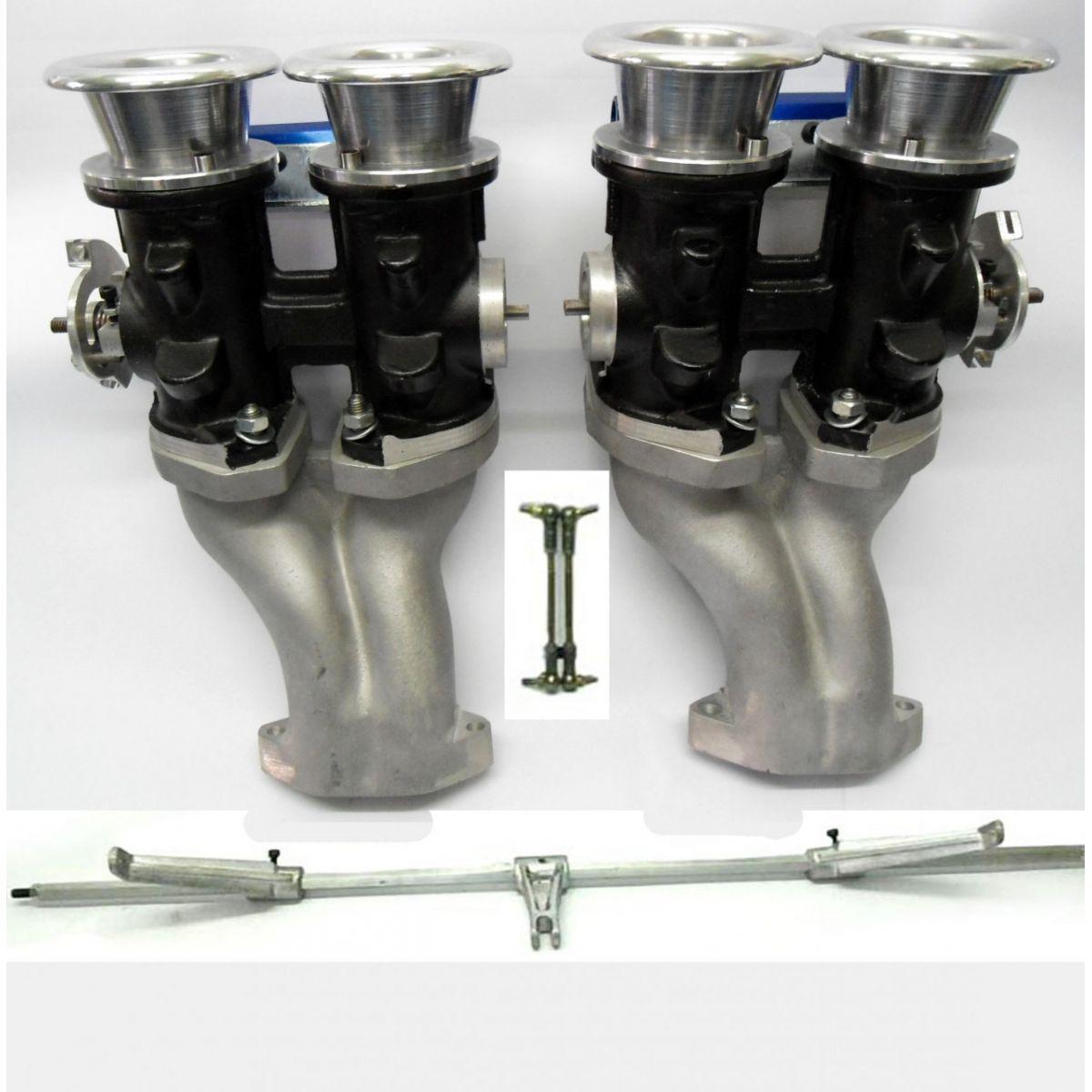 Throttle Kit Injeção VW AR Fusca 45mm Aspirada com Corpo Admissão
