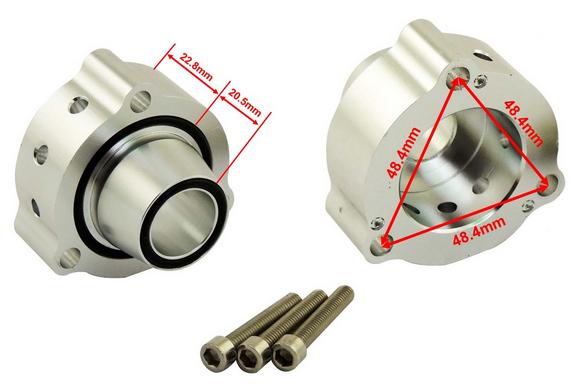 Válvula Blow off modelo turbo original 2.0 TSI / TFSI (Jetta / Passat / Tiguan / Golf)