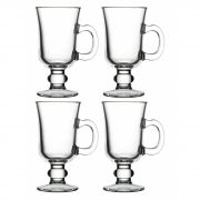 4 TAÇA CANECA IRISH COFFEE 230 ML Pasabahçe