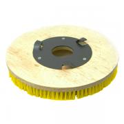 Conj. 2 Escova NYLON 350 mm COM Flange Para Enceradeiras CLEANER. Allclean e Bandeirantes Entre Outras