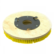 Conj. 3 Escova NYLON 350 mm COM Flange Para Enceradeiras CLEANER. Allclean e Bandeirantes Entre Outras