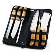 Kit - Conjunto de facas com estojo Frankfurt - 7 peças - PB-00253