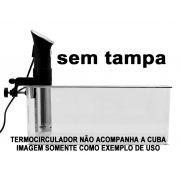 Cuba Gastronômica Policarbonato GN 1/1X200 mm 24 Litros Para Sous Vide SEM TAMPA Original CAMBRO