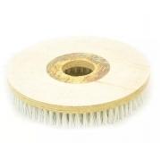 Escova Em NYLON 300 mm SEM Flange Para Enceradeira BRALIMPIA, Romher, Eletrolux, Deep Clean, Fort Clean, Starmix