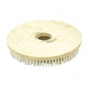Escova Em NYLON 350 mm SEM Flange Para Enceradeira BRALIMPIA, Romher, Eletrolux, Deep Clean, Fort Clean, Starmix