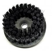 Escova para lavar base plástica 120 mm cerdas grossas pretas 0,30 mm SEM FLANGE