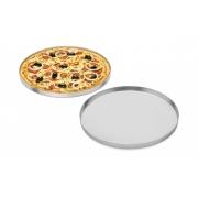 Forma Assadeira Para Pizza Em Alumínio 25 Cm