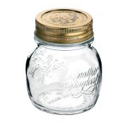 Pote de Vidro Quattro Stagioni 150 ml Para Conservas e Afins COM Tampa Original