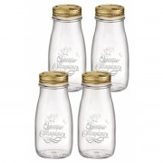Kit 4 Garrafas Quattro Stagioni 400 ml COM Tampa Original