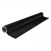 Plástico Adesivo Sólido Preto - 80 Mic. - 45cmx10m