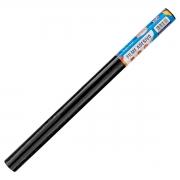 Plástico Adesivo Sólido Preto - 80 Mic. - 45cmx1,5m