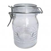 Pote de Vidro Hermético Officina 500 ml – Feito na Itália