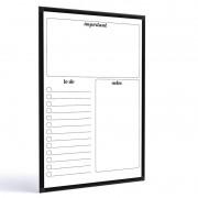 Quadro para planejamento Planner 90x60 cm R9871