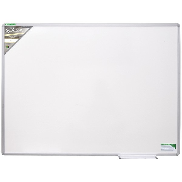 Quadro Branco Standard 150x120cm com Moldura de Alumínio Luxo - Souza