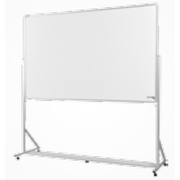 Cavalete Porta Quadro 200x120cm Alumínio Luxo com Quadro Branco Incluso - Souza