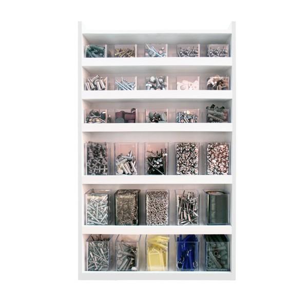 Prateleira Multi Organizadora com 30 Box - Acrinil