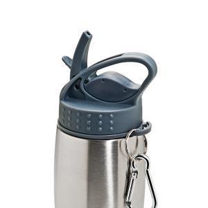 Squeeze em Aço Inox com Mosquetão - 750 ml