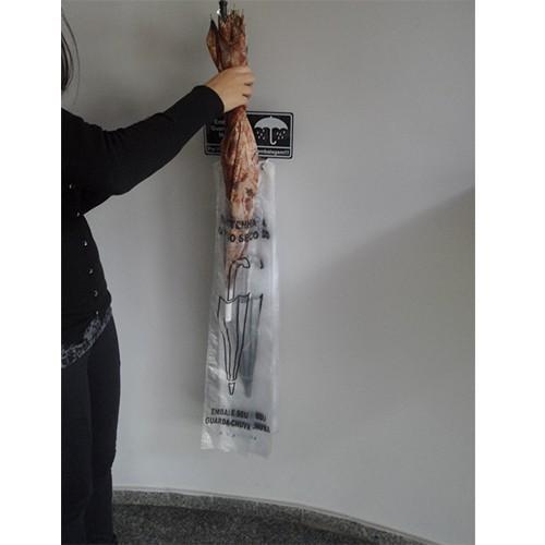 Embalador de Guarda-Chuva Em INOX Para Parede SLIM