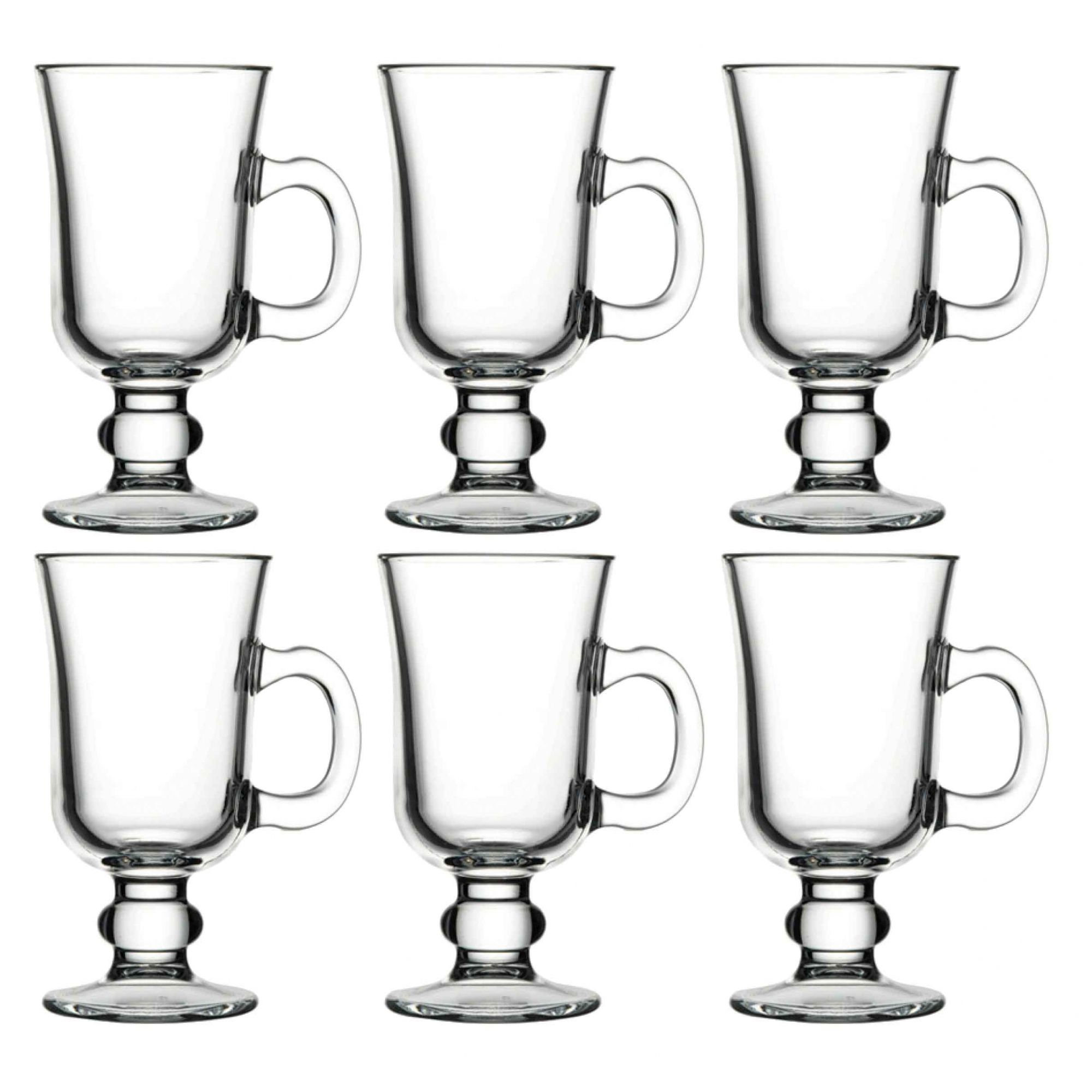 6 TAÇA CANECA IRISH COFFEE 230 ML Pasabahçe