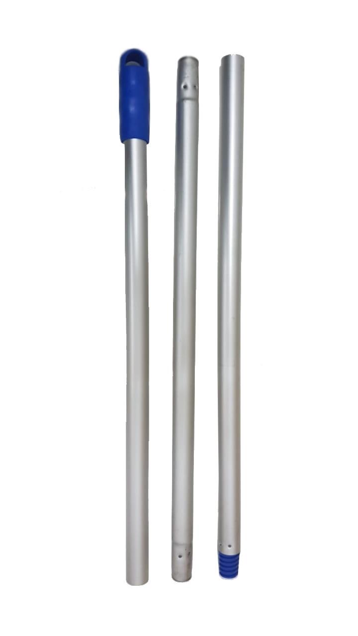 Balde Espremedor Para MOP Úmido DOBLÔ 20 Litros B20FAZ Flex AZUL + MOP Úmido Completo (Cabo + Garra + Refil) + 1 Refil Para Mop Úmido Extra BRALIMPIA