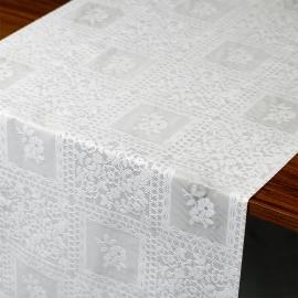 Caminho de mesa plastico renda Cidinha