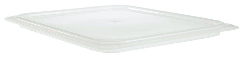 CONJ 10 CUBAS Gastronômicas Em POLICARBONATO GN 1/6X65 mm 1 Litro + 10 TAMPAS 1/6 Em Polipropileno Vedante Originais CAMBRO