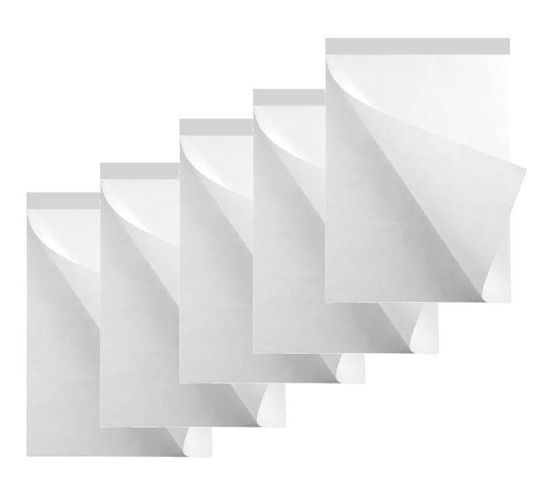 Conj 5 Papel para flip chart micro serrilhado 63 x 80 cm 63 g bloco 50 fls