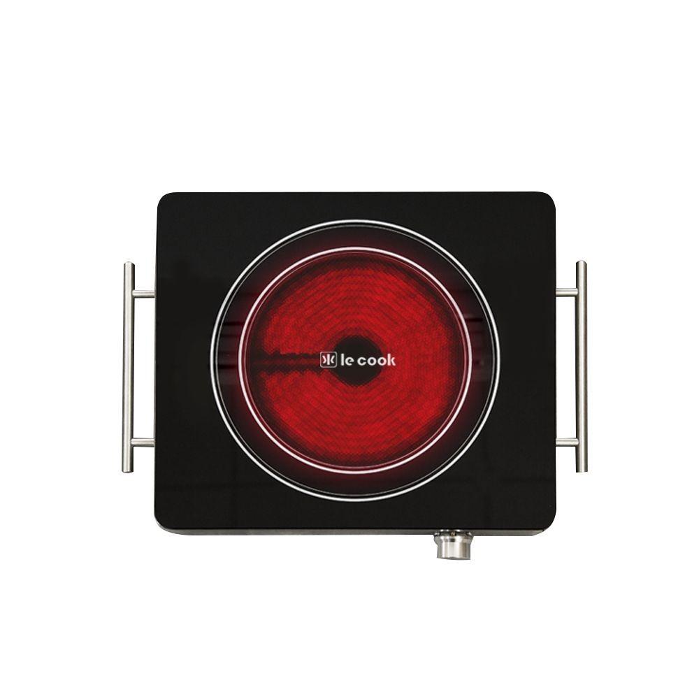 Cooktop LE COOK 1800 Watts Com 1 Boca 39X29,9X7,4 Cm Modelo LC1703 - 220 Volts